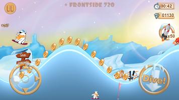 Screenshot of Snowboard Racing Free Fun Game