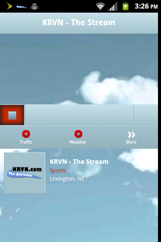 KRVN.com The Stream - screenshot