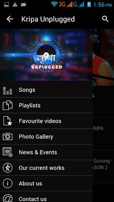 Kripa Unplugged - Official App - screenshot
