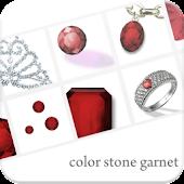 color stone ライブ壁紙 - Garnet