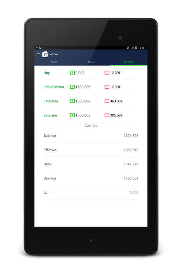 Money Expense Manager- screenshot