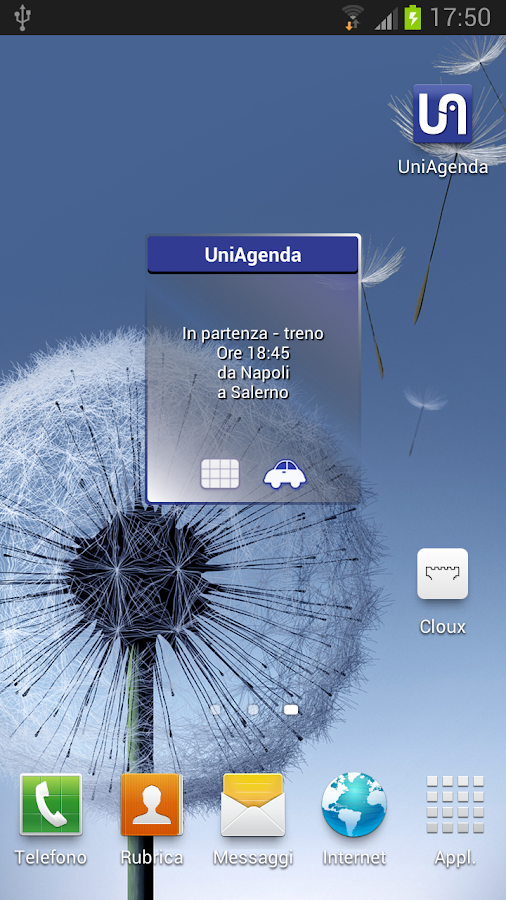 UniAgenda- screenshot