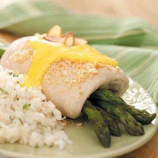 Asparagus-Stuffed Chicken Breasts.