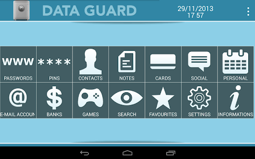 Data + Guard: password manager- screenshot thumbnail