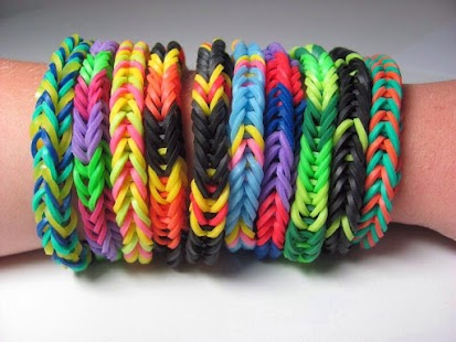 Fishtail Rainbow Loom Bracelet - screenshot thumbnail