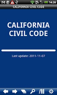 California  Civil Code - screenshot thumbnail