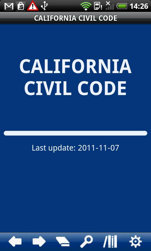 California  Civil Code - screenshot