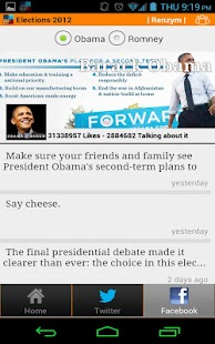 @Elections2012 - screenshot thumbnail