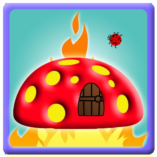 飞虫 火 逃生 - 免费 游戏 LOGO-APP點子