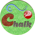 Colored Chalk - icon pack v1.1