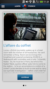Learn French with RFI- screenshot thumbnail