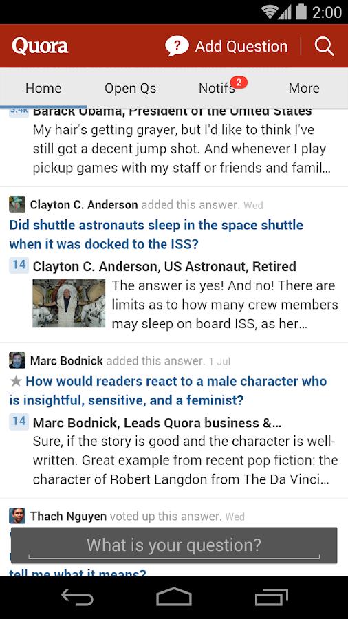 Quora - screenshot