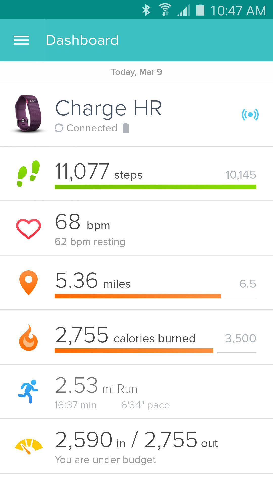 Fitbit screenshot #1