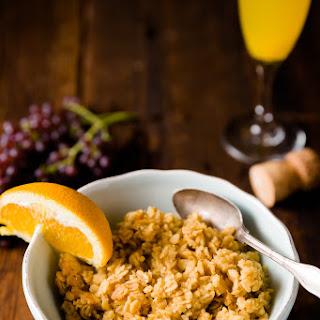 Mimosa Oatmeal