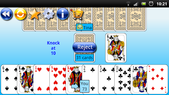 G4A: Gin Rummy- screenshot thumbnail