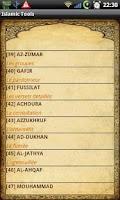 Screenshot of Islamic Tools