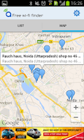 Screenshot of Free WiFi Finder India