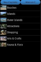 Screenshot of Seychelles Travel Guide & Map