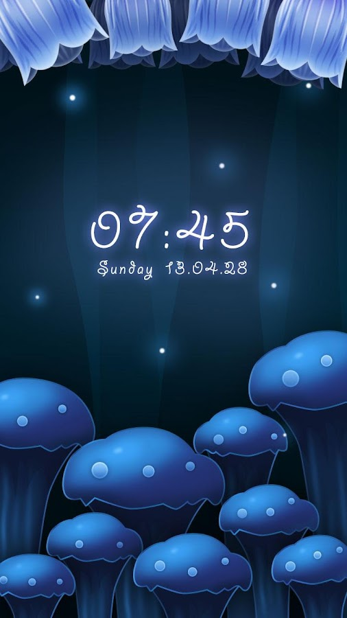 Flury GO Locker Theme - screenshot