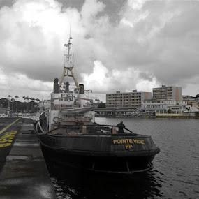 Tugboat by Joko Pix - Transportation Boats ( boat,  )