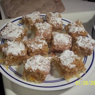Apricot-Coconut Squares