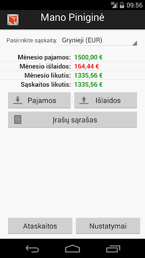 Mano Pinigine - Mano finansai