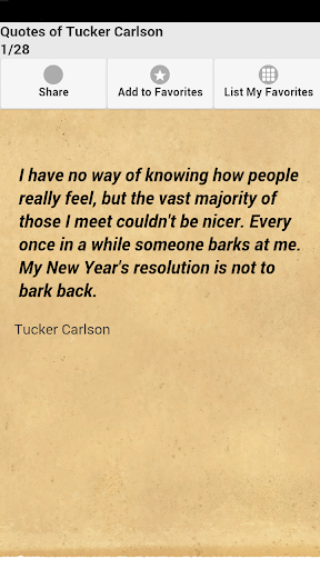 Quotes of Tucker Carlson