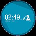 UCCW Skin - Sense 5 Clock icon