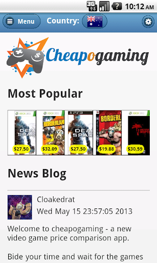 Cheapogaming: Cheap games