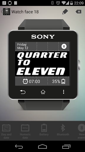 Sony / SE (Android) - [開箱] SONY SmartWatch 2 SW2 台灣新力公司貨 ...