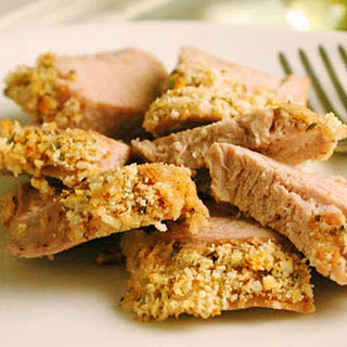 Thyme-Coated Pork Tenderloin