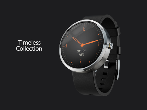 Timeless-Orange Watch Face