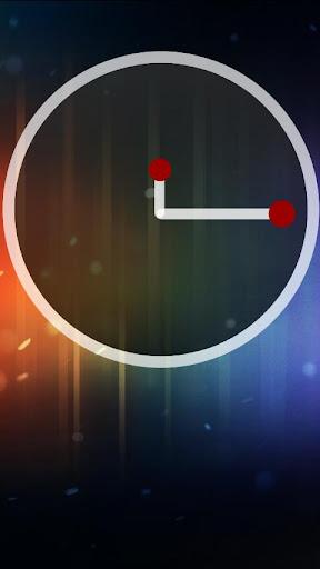 Minimalist Analog Clock Widget