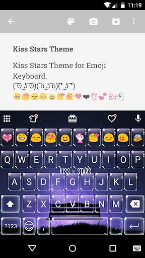 Kiss Stars Emoij Keyboard