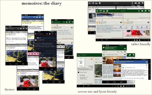 Memoires: the Diary