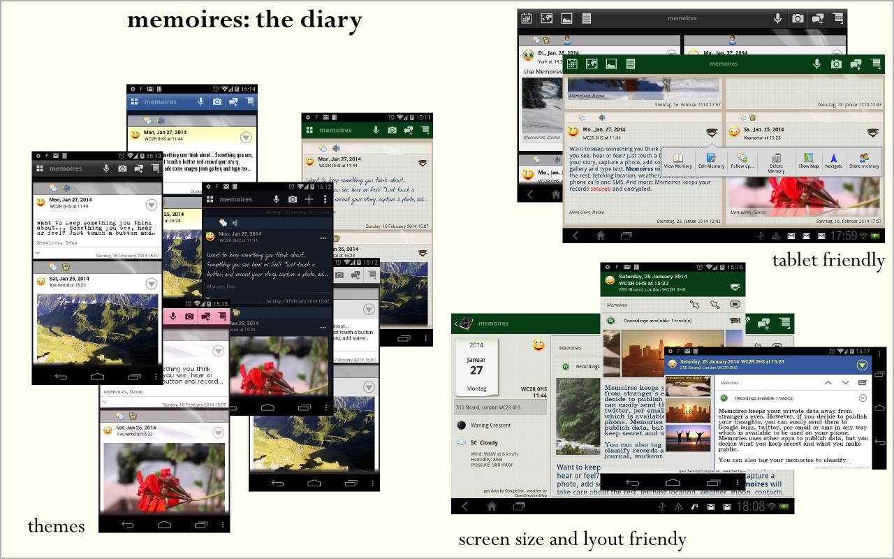 Memoires: the Diary - screenshot