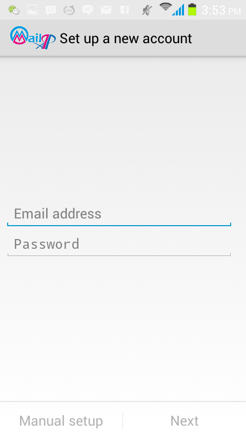 MailApp- screenshot