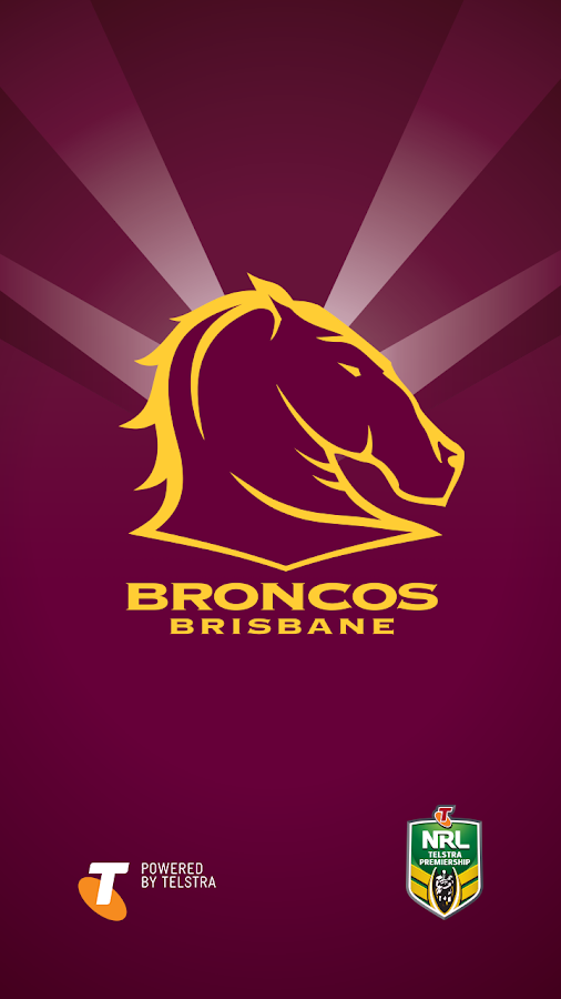 brisbane broncos logo wallpaper