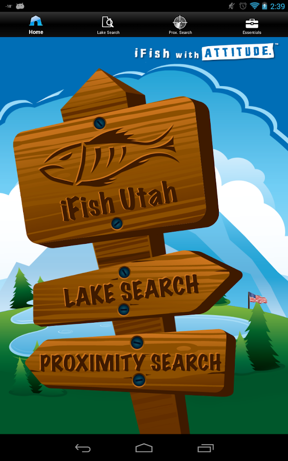 iFish Utah- screenshot