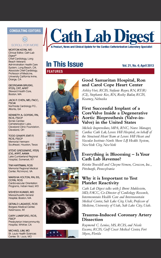 Cath Lab Digest - screenshot