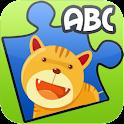 Kids ABCs Jigsaw Puzzles logo