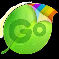GO Keyboard Green Neon Theme 1.0