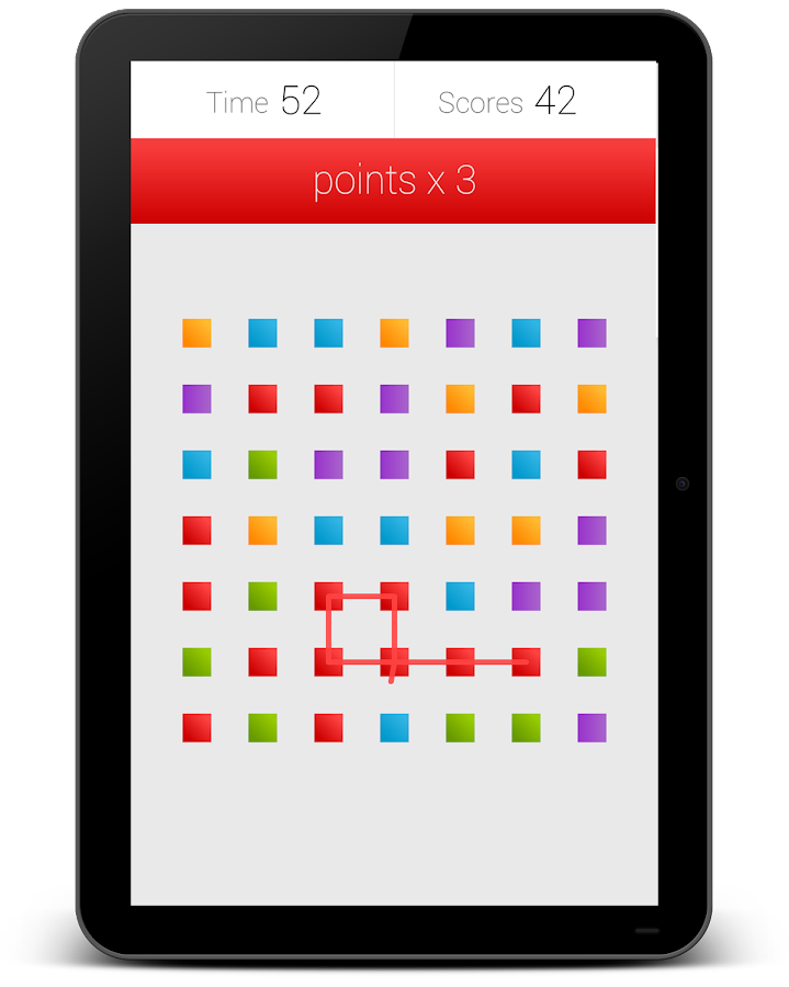 7x7 squares - screenshot