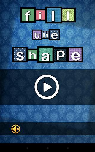 Fill The Shape