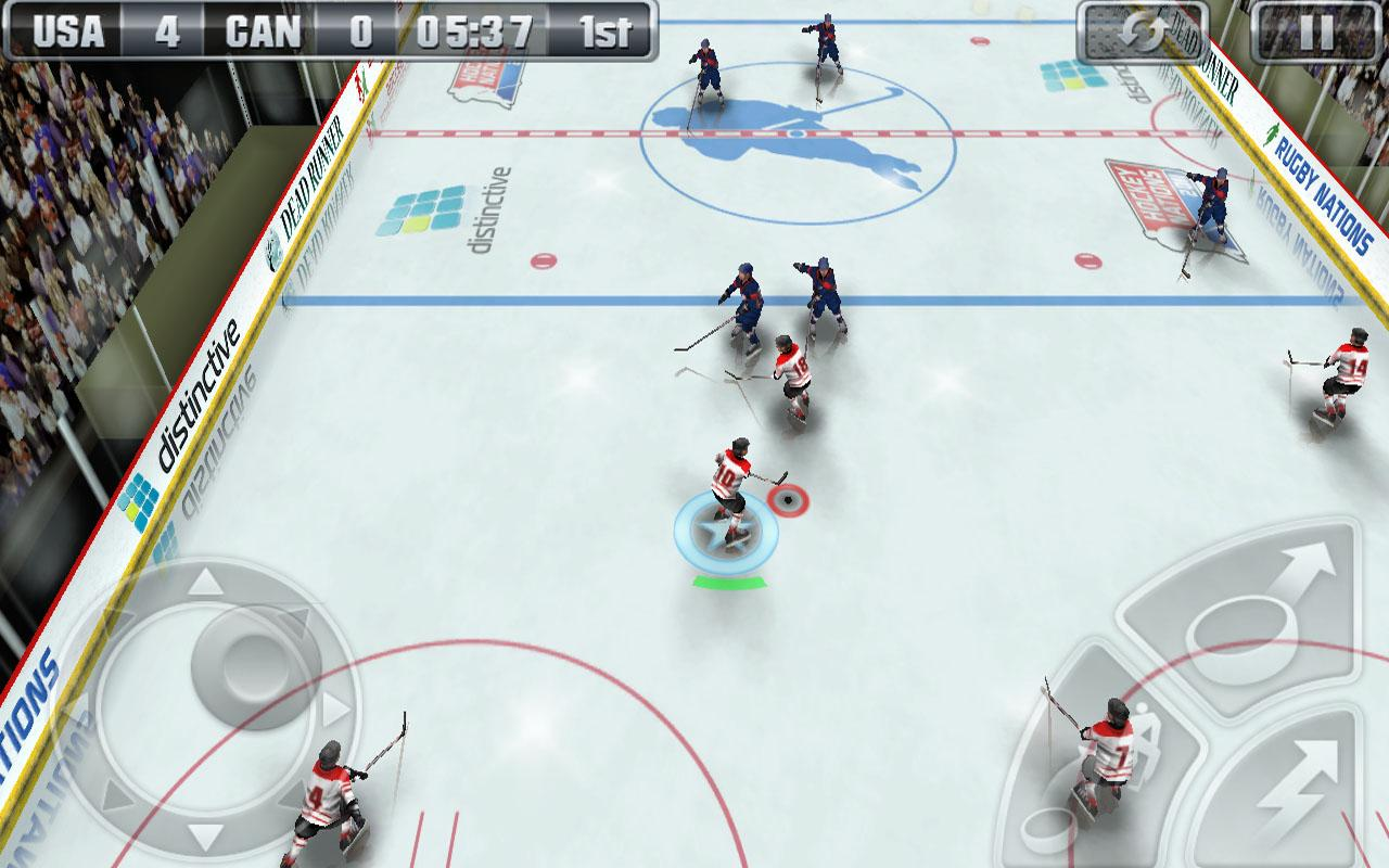 Hockey Nations 2011 THD - screenshot