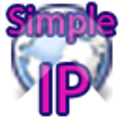 SimpleIP - View IPv4 and IPv6