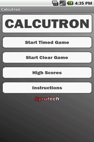 Calcutron Lite- screenshot