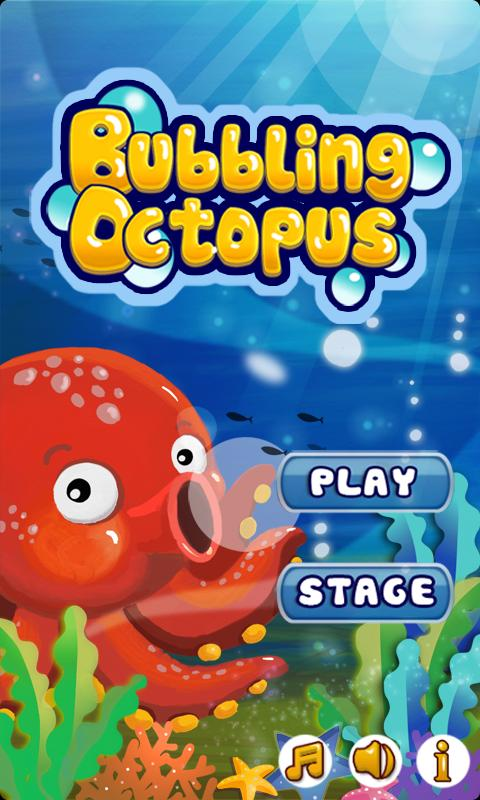 Bubbling Octopus - screenshot