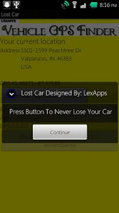 *Lost Car*- screenshot thumbnail