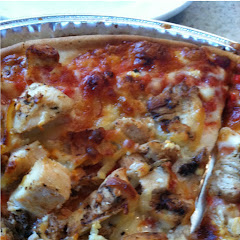 Chicken and four cheese pizza ff!!